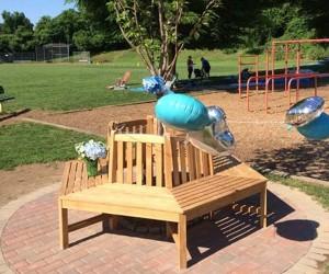 North Mianus School Tree & Bench Dedication