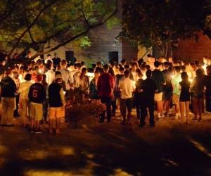 Candlelight Vigil for Emily