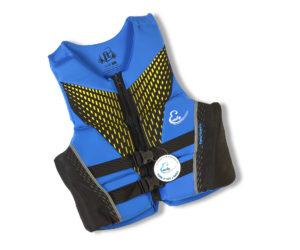 Blue Ski Vest