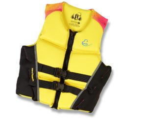 Yellow Ski Vest